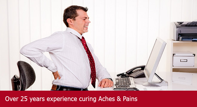 Charing Chiropractic and Acupuncture Centre - Over 25 years experience curing aches and pains